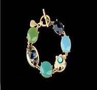 European Simply Blue Stone Bracelet