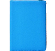 Protective 360 Degree Rotation Fiber Leather + Plastic Case w/ Auto Sleep for iPad Air