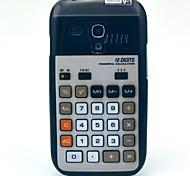 Calculator Pattern Hard Plastic Case for Galaxy Samsung S3 mini I8190