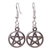 shixin® klassische Sternform Silber Ohrringe (1 Paar)