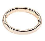 alliage anneau circulaire bricolage charme des pendants d'oreille&collier (10 pcs par paquet)