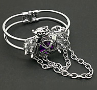 Jewelry Inspired by Reborn! Kyoya Hibari Anime Cosplay Accessories Bracelet Purple Alloy / Artificial Gemstones Male
