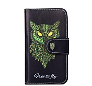 PU Leather Owl Pattern Case for Nokia X