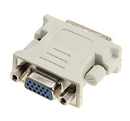 dvi 24 +5 macho a hembra adaptador vga dongle