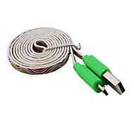 Elonbo Stripe Micro to USB Data Sync Charge Cable for Samsung Galaxy S3/S4/Note 2 / HTC(103cm)