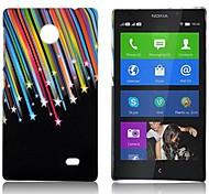 Metor Dusche Muster gummierte hart zurück Fall für Nokia X X +