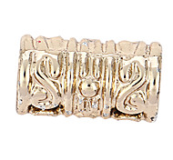 alliage tube de motif vintage bricolage charme des pendants d'oreille&collier (10 pcs par paquet)