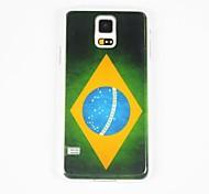 Para Funda Samsung Galaxy Diseños Funda Cubierta Trasera Funda Bandera Policarbonato Samsung S5