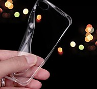 Ultra-thin 0.3mm Transparent TPU Soft Case for iPhone 4/4S (Assorted Colors)
