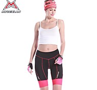 MYSENLAN® Cycling Padded Shorts Women'sBreathable / Quick Dry / Ultraviolet Resistant / High Breathability (>15,001g) / Reflective Strips