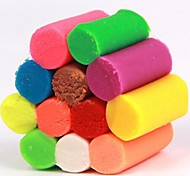 12 Color Plasticine Handmade Toys (Random Color)