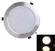 белый свет Светодиодная лампа потолка (мужчины и женщины плагин) 1110lm AC85-265V 12w