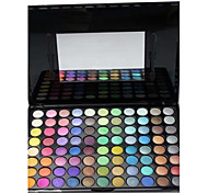 88 Palette de Fard à Paupières Sec / Mat / Lueur / Matériel Fard à paupières palette Poudre GrandMaquillage Smoky-Eye / Maquillage