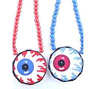 collana di legno modello di bulbo oculare