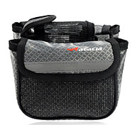 Bike Frame Bag / Cycle Bag Waterproof / Rain-Proof / Reflective Strip / 3 In 1 Cycling/Bike PVC / 600D Polyester Gray / Others Acacia