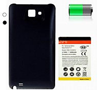 5200mAh Replacement Lithium-ion Battery+Back Cover for Samsung I9220 GALAXY Note