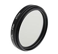 yuanbotong filtro cpl cámara universal con la tapa de la lente para la lente de 37mm (1pcs)