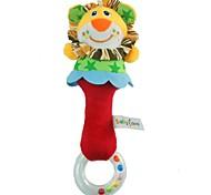 Babyfans ™ Plush Cartoon Lion Animal Baby Soft Rattle Toys