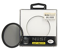 NISI 62mm PRO CPL Ultra Thin Circular Polarizer Lens Filter