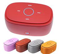 KINGONE K5 portatile senza fili di Bluetooth V3.0 Bass 2-CH Speaker con TF - rosa / rosso / grigio / arancio