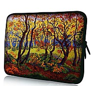 Elonno Beautiful Woods Neoprene Laptop Sleeve Case Bag Pouch Cover for 13'' Macbook Pro/Air Dell HP Acer