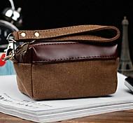 bolso de lona marrón al aire libre del fashional