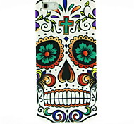 Skull Flower Pattern Hard Case for iPhone 5/5S