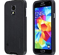 Fashionable PC + TPU + Aluminum Alloy Protective Back Case for Samsung Galaxy S5