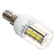 E14 LED a pannocchia T 42 SMD 5730 1200 lm Luce fredda AC 12 V