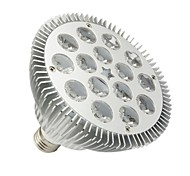 15W E26/E27 Luces PAR PAR38 15 LED de Alta Potencia 1430-1480 lm Blanco Cálido Regulable AC 100-240 V