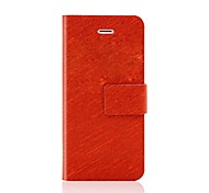 Luxury Flip Leather Cover Case with stand for iPhone 4/4S(Assorted Colors)
