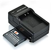 DSTE 3,7 1650mAh литий-50b аккумулятор + DC16 Зарядное устройство для Olympus smju 1020 SP-800UZ U-9010 камеры