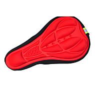 acacia® anti-derrapante farbic almofada de ar forro respirável ciclismo vermelho capa sela