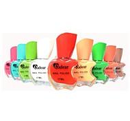 Pro Apple Design Colorful Nair Art Nail Polish Gel Pot (12 Color Option)