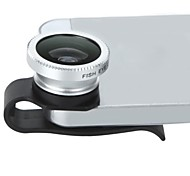 Detachable Clip-on 180° Degree Fisheye Lens Fish Eye Lens for iPhone/iPad and Others