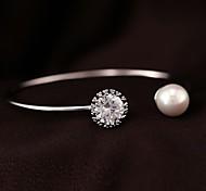 z&moda x® diamante elegante pulsera de perla grande noble (más colores)