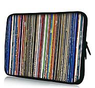 Elonno Chromatische Stripe Neopren-Laptop-Hülsen-Kasten-Beutel-Beutel-Abdeckung für 15'' MacBook Pro Retina Dell HP Acer