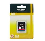 Genuine KINGMAX SDHC Memory Card - 16GB (Class 6)