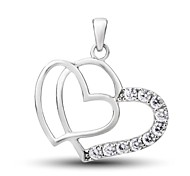 Lovers' S925 Silver Pendant Necklace