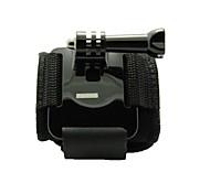 Strap braçadeiras egamble pulso com Parafuso para GoPro Hero 3 + / 3/2/1