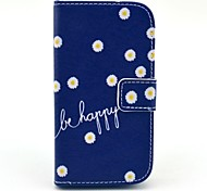 Be Happy Daisy Pattern Soft Case for Samsung Galaxy Core I8262