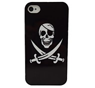 Pretty Cool Skull  Pattern PC Back Case for iPhone 5