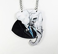 collana di legno elephantpattern