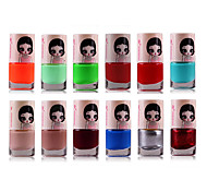 1PCS Candy Color Environmental Protection Nail Polish NO.18-49(Assorted Color)