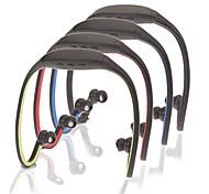 Стерео Bluetooth Шея-Band наушники с микрофоном (черный)