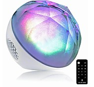 Colorful magica atmosfera di illuminazione Speaker Bluetooth con TF porta per il telefono / Laptop / Tablet PC con telecomando