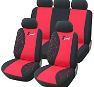 9 PCS Set Car Seat Covers universale Fit Accessori Auto