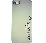 Smile Design Aluminium Hard Case for iPhone 4/4S