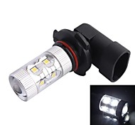 9005 / HB3 60W 6500K 650LM 12xLED SMD LED White Light Car Nebelscheinwerfer Scheinwerfer (DC12-24V)