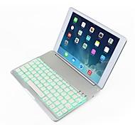 witspad® F9S 7 colores del teclado bluetooth retroiluminado para el aire del ipad